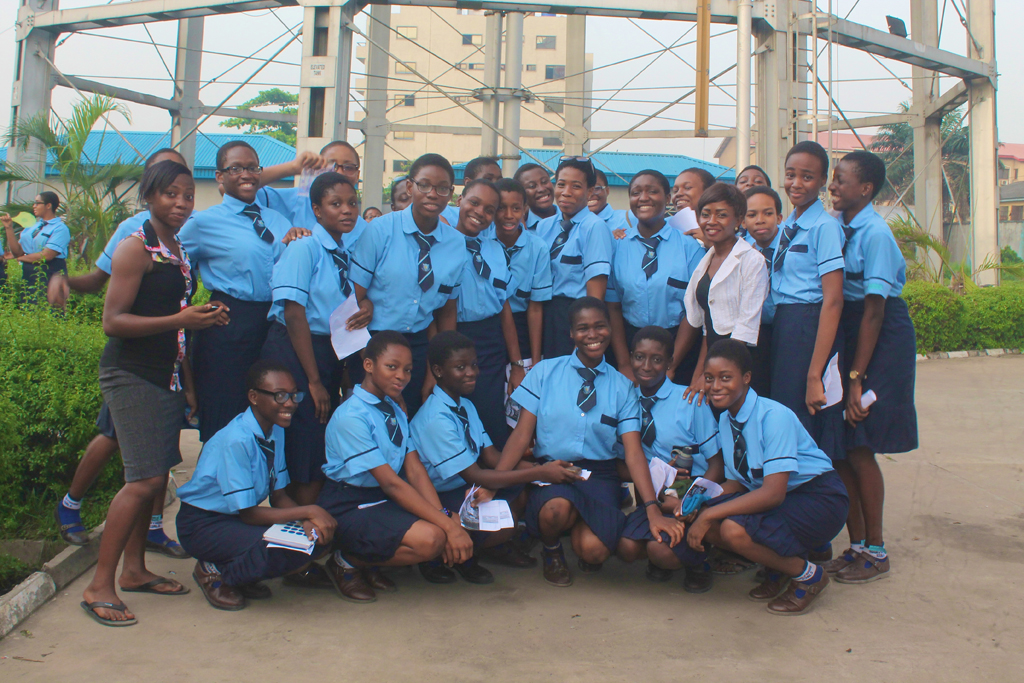 marywood-girls-students-pose-outside-the-lagos-state-water-corporation-before-a-tour-of-the-facilities_17210468715_o